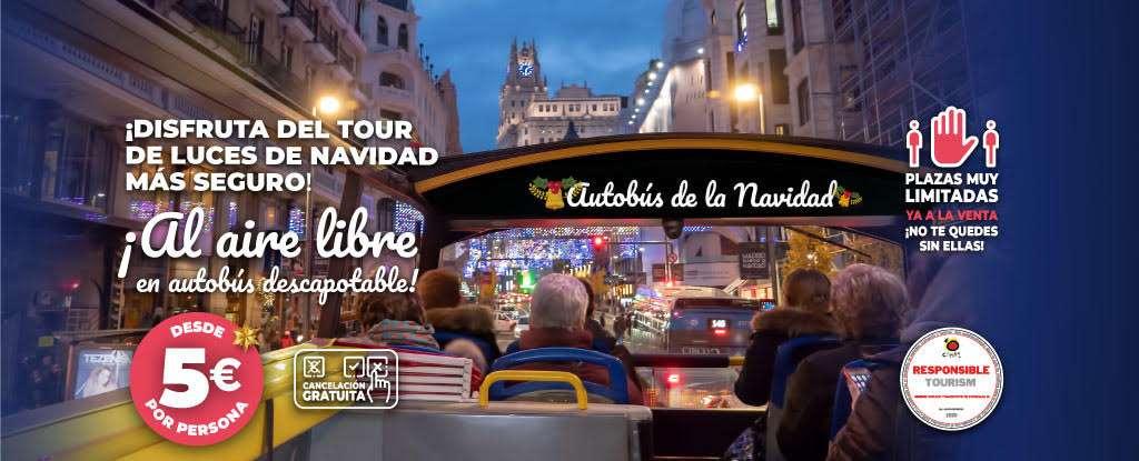 Autobús de la Navidad